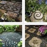 тротуарная плитка, как сделать плитку,дорожки для сада