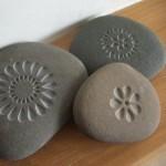 поделки для дачи+своими руками,поделки из камня,красивые поделки