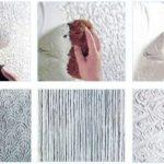 техника нанесения декоративной штукатурки
