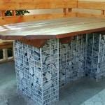 поделки для дачи, мебель для дачи, скамейки, арки