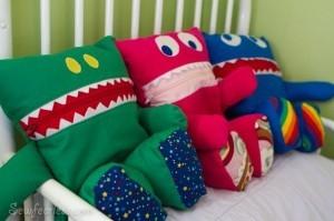 поделки на дачу,подушки,декоративные подушки