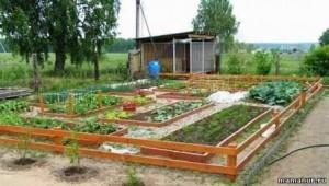 В огороде и саду поделки для огорода