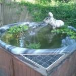 старая ванна+чугунная,ванна +на даче,поделки +своими руками +для дачи