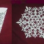+как вырезать снежинки,+как сделать снежинки +из бумаги,+как красиво вырезать снежинки,+как вырезать красивые снежинки,снежинки +из бумаги , схемы вырезания снежинок,+как сделать снежинку +своими руками