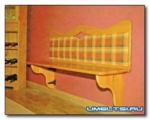 диван, как сделать диван, мебель для дачи, диван для прихожей