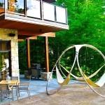 тройной гамак дизайнерский гамак гамак фото креативный дизайн садовой мебели садовая мебель дачная мебель Trinity Hammocks
