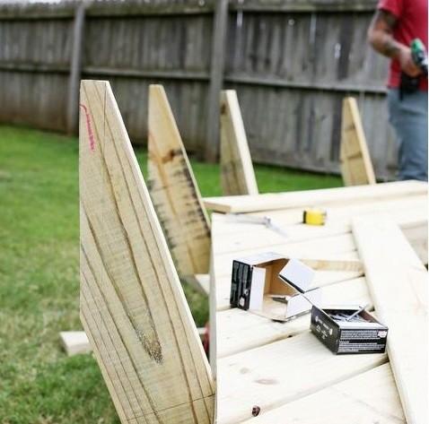 как сделать скамейку, скамейки для дачи