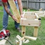 как сделать скамейку, скамейки своими руками, деревянные скамейки